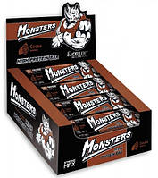 Батончик протеїновий з какао Monsters 80 гр 20 шт/уп 200 шт/ящ