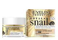 Крем-концентрат для лица Eveline Cosmetics Royal Snail с лифтинг эффектом 50+ 50 мл