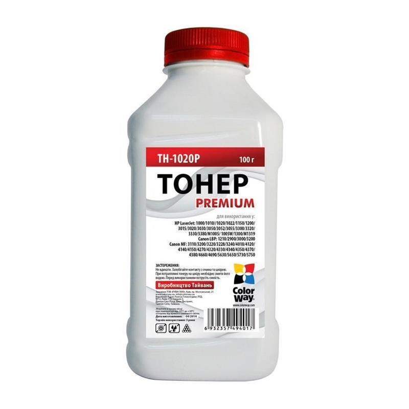 Тонер CW (TH-1020P) HP LJ 1010/1012/1015 Premium 100 г