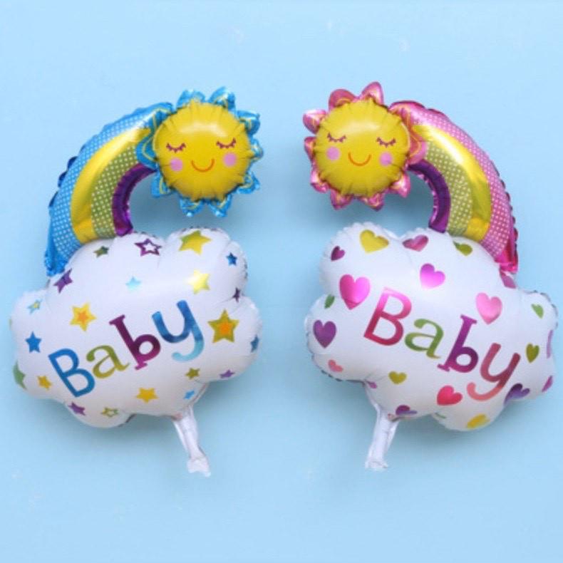 """Вознушный шар """"Baby"""" для мальчика и девочки"""