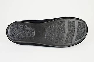 Тапочки мужские велюр Inblu RP1B черные, фото 3