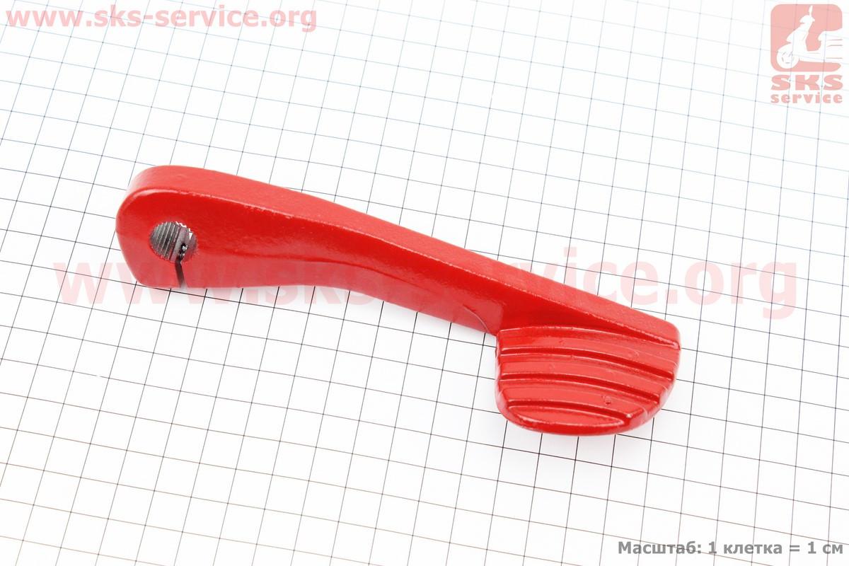 Важіль кік-стартера TUNING GY6/DIO (червоний) на скутер