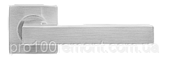 Ручка дверная на розетке МВМ S-1135 SS нержавеющая сталь