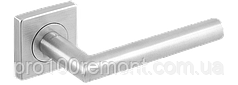 Ручка дверная на розетке МВМ S-1136 SS нержавеющая сталь