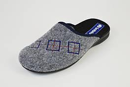 Тапочки мужские фетр Inblu OG6V серые