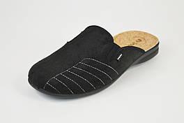Тапочки мужские пробка Inblu OG7B черные