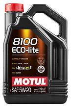 Масло Motul 8100 Eco-Lite 5W-20 5л (109104)