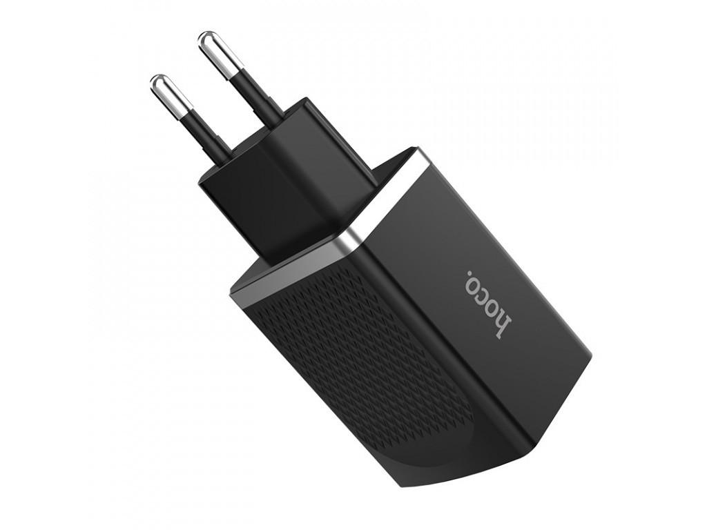 Мережевий зарядний пристрій HOCO C42A 3 A / 1 USB-порт / 12 W / QC 3.0 (Чорний)