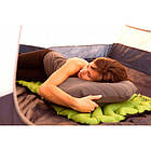 "Подушка надувная ""Klymit Luxe Pillow"", [029] Grey, фото 5"