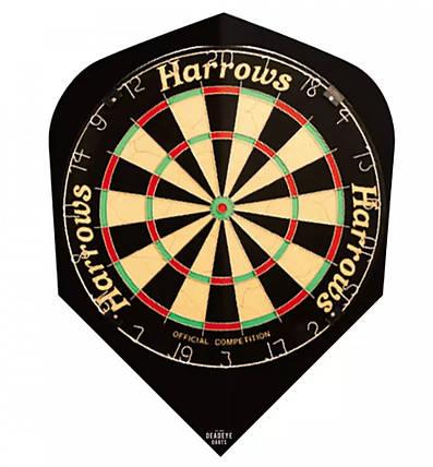 """Оперения для дротиков дартс """"Quadro"""" 9 шт. Англия """"Harrows"""", фото 2"""