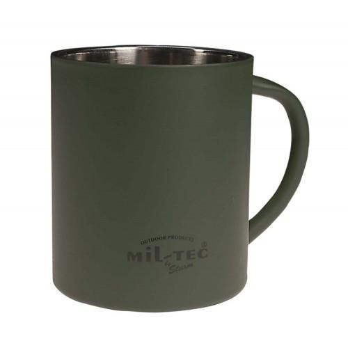 Кружка с двойными стенками (350 ML), [182] Olive