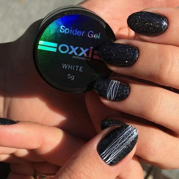 Гель-паутинка Oxxi Professional Spider Gel White, 5 г белая