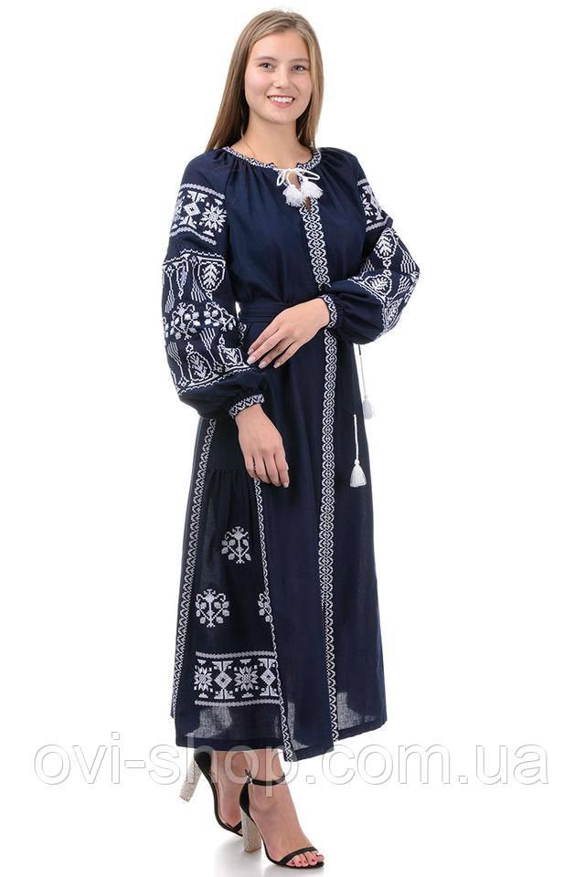 красивое платье вышиванка