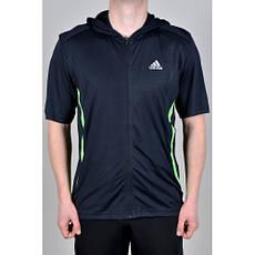Футболка Adidas с капюшоном. (725)