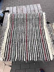 Накидка з 100% овечої шерсті, ручна в'язка