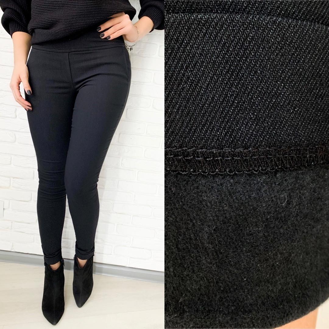 Лосины джеггинсы женские, утепленные, джинс коттон на флисе, леггинсы повседневные, удобные, модные, до 52 р
