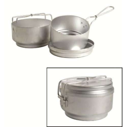 Набор посуды армейский Чехия, б/у (3 предмета) оригинальный , [999] Multi