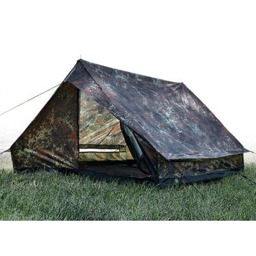 Палатка двухместная Mini Pack Super, [1215] Немецкий камуфляж