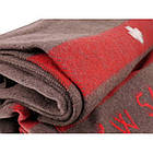 Одеяло швейцарское шерстяное (200x140 см), оригинал, [108] Brown, фото 3