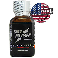 Попперс SUPER RUSH BLACK LEVEL 24ML PWD USA, фото 1