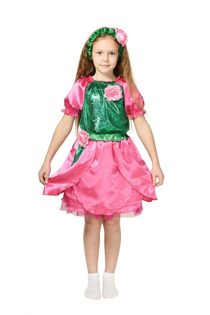 Дитячий карнавальний костюм троянди