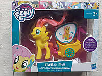 Пони в карете, Флатершай Fluttershy, 8 см. , My Little Pony Hasbro B9836
