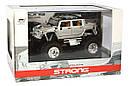 Машинка на радиоуправлении джип 1:43 Great Wall Toys Hummer (серый), фото 4
