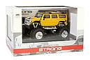 Машинка на радіоуправлінні джип 1:43 Great Wall Toys Hummer (жовтий), фото 4