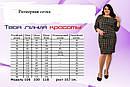Нарядный женский костюм 48-62 размер №7908, фото 2