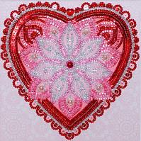 Набор для вышивания бисером и пайетками ВДВ Мандала На любовь