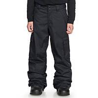 Детские горнолыжние штани DC 14 yars 155-163 см \ Детские сноубордические штаны черные