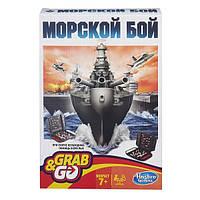 """Hasbro Дорожная игра """"Морской бой"""", фото 1"""