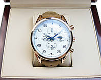 Часы Tag Heuer Space X ELITE 45mm Gold/White/Blue (Механика). Реплика Premium качества (AAA).