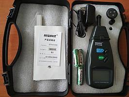 Лазерный тахометр Walcom DT-6236B (Угловая скорость: 2.5~99999RPM) (Линейная скорость: 0.5-19999 ) (50-500 мм) (MK005)