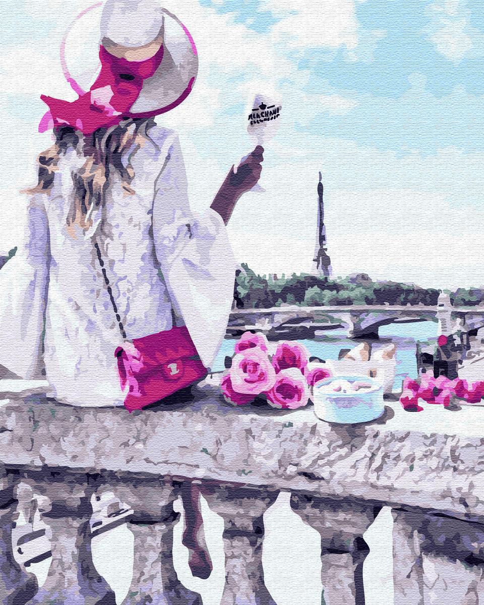 Картина раскраска Романтическое настроение (BRM31417) 40 х 50 см