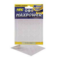 Высечка из двухсторонней ленты HPX Maxpower - 16 подушечек, d=20мм