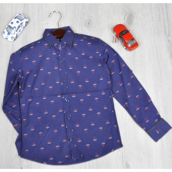 Детская рубашка для  мальчика от 122-152 лет(6 ед в уп)