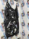 Вентилятор осн радіатора 2 піна 6 лопатей D385 / D280 7 лопатей 2.5 dci Ніссан Примастар новий 2000-2014р, фото 2