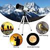Астрономический телескоп  монокуляр со штативом F30070M зум 150