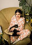 Пижама детская махровая комбинезон Чайки 134 см, фото 2