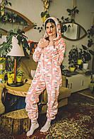 Пижама детская махровая комбинезон Чайки 134 см, фото 1