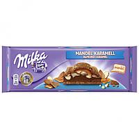 Молочный шоколад Милка Milka Almond Caramel 300 г