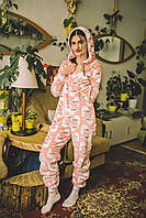 Пижама детская махровая комбинезон Чайки 122 см, фото 1