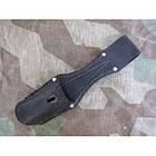"""Поясное крепление """"жаба"""" для штык-ножа 98K Вермахт/Люфтваффе/SS-VT/W-SS (историческая копия) (под заказ), [019] Black, фото 2"""