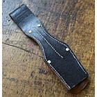 """Поясное крепление """"жаба"""" для штык-ножа 98K Вермахт/Люфтваффе/SS-VT/W-SS (историческая копия) (под заказ), [019] Black, фото 3"""