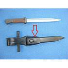 """Поясное крепление """"жаба"""" для штык-ножа 98K Вермахт/Люфтваффе/SS-VT/W-SS (историческая копия) (под заказ), [019] Black, фото 5"""