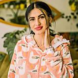 Пижама детская махровая комбинезон Чайки 104 см, фото 2