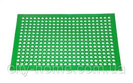 Килимок гумовий сота 90 х 150 х 1,2 см зелений