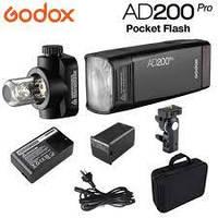 Компактная вспышка Godox AD200Pro TTL Pocket Flash Kit (AD200PRO)