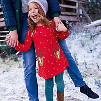 Платье для девочки Рождество. Jumping Meters